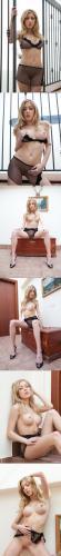 [TeenDreams] Julia In Sexy Black Sheer Lingerie teendreams 08080