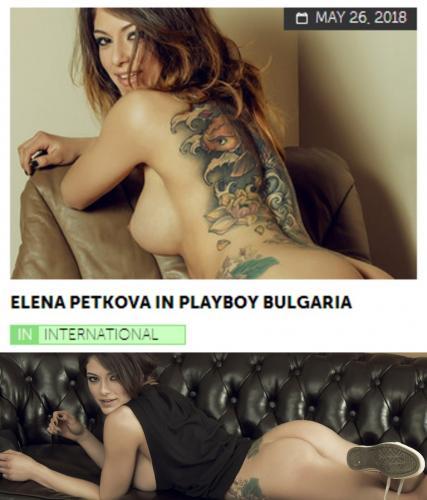 Playboy PlayboyPlus2018-05-26 Elena Petkova in Playboy Bulgaria