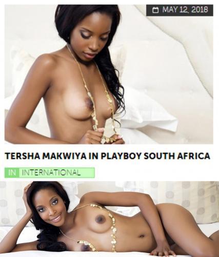 Playboy PlayboyPlus2018-05-12 Tersha Makwiya in Playboy South Africa