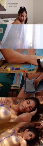 7260717731 [Met-Art] Daniella Vioti - Naked Canvas